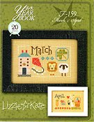Lizzie Kate - Year Book Double Flip Series - March & April THUMBNAIL