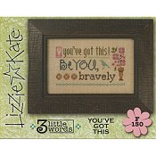 Lizzie Kate Flip-It Series - 3 Little Words - You've Got This THUMBNAIL