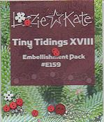 Lizzie Kate - Tiny Tidings XVIII Embellishment Pack