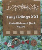 Lizzie Kate - Tiny Tidings XXI Embellishment Pack