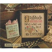 cover of Lizzie Kate - Inspiration Boxer - Gratitude cross stitch boxer kit