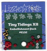 Lizzie Kate - Tiny Tidings XII Embellishment Pack