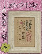 Lizzie Kate Flip-It Series - 3 Little Words - Today Choose Joy