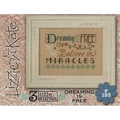 Lizzie Kate Flip-It Series - 3 Little Words - Dreaming Is Free
