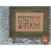 Lizzie Kate Flip-It Series - 3 Little Words - Embrace The Journey THUMBNAIL