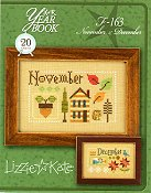 Lizzie Kate - Year Book Double Flip Series - November & December