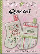 Lizzie Kate - Quick-It:  Merry Little Stockings