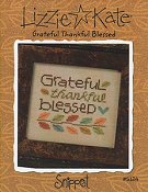 Lizzie Kate Snippet - Grateful Thankful Blessed