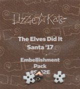 Lizzie Kate Snippet - The Elves Did It - Santa '17 Embellishment Pack