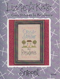 Lizzie Kate - Cross Stitcher In Residence