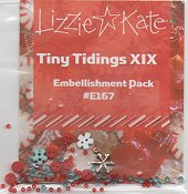 Lizzie Kate - Tiny Tidings XIX Embellishment Pack