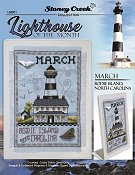 Lighthouse of the Month - March - Bodie Island, NC THUMBNAIL