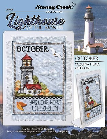 Lighthouse of the Month - October - Yaquina Head, OR MAIN