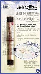 LoRan Line Magnifier With Sliding Markers MAIN