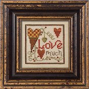 "August 2010 Pattern of the Month ""Love Much"""