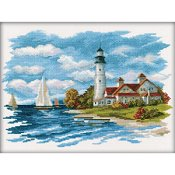RTO Cross Stitch Kit - Seaside Beauty