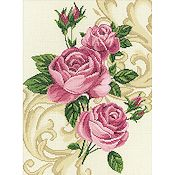 RTO Cross Stitch Kit - Roses