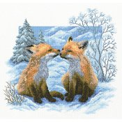 RTO Cross Stitch Kit - Fox Cubs