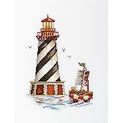 RTO Cross Stitch Kit - Lighthouse Seal Bay