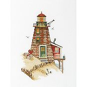 RTO Cross Stitch Kit - Lighthouse Crab