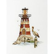 RTO Cross Stitch Kit - Lighthouse Pelican