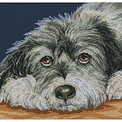 RTO Cross Stitch Kit - Dog Melancholy THUMBNAIL