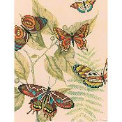 RTO Cross Stitch Kit - Butterfly Kingdom 1