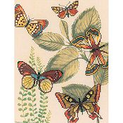 RTO Cross Stitch Kit - Butterfly Kingdom 2