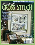 cover of Stoney Creek Cross Stitch Collection magazine April 2004 issue