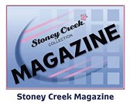 "The word ""Magazine"" indicates the category for back issues of the Stoney Creek Cross Stitch Collection magazine"
