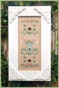 Country Cottage Needleworks - Sampler of the Month - March THUMBNAIL