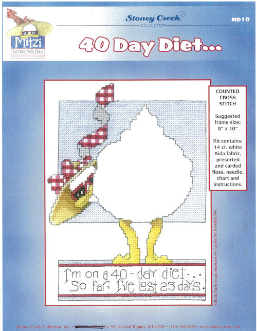 Mitzi - 40 Day Diet