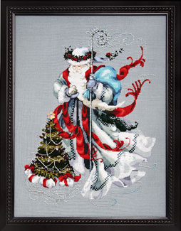 Mirabilia Designs - Winter White Santa