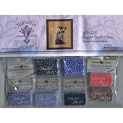 Mirabilia Designs - August Peridot Fairy Embellishment Pack MAIN