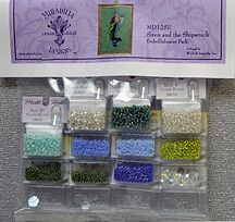 Mirabilia Designs - Siren and the Shipwreck Embellishment Pack