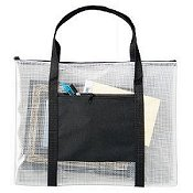 Mesh Project Bags With Handles