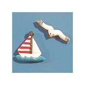 Magnets - August Sailboat & Seagull