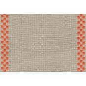 "Mill Hill Stitch Band - Checkers 27ct Natural/Orange (5.9"" wide) THUMBNAIL"
