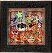 Buttons & Beads 2015 Autumn Series - Painted Pumpkins THUMBNAIL