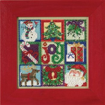 Buttons & Beads 2015 Winter Series - Joy of Christmas MAIN