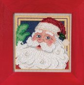 Buttons & Beads 2015 Winter Series - Jolly St. Nick THUMBNAIL