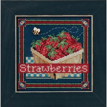 Buttons & Beads 2016 Spring Series - Strawberries MAIN