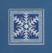 Buttons & Beads 2016 Winter Series - Crystal Snowflake THUMBNAIL