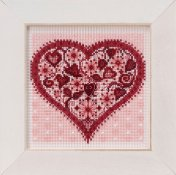 Buttons & Beads Spring Series 2019 - Valentine Heart THUMBNAIL