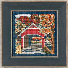 Buttons & Beads 2012 Autumn Series - Covered Bridge MAIN