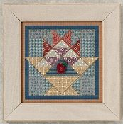 Buttons & Beads 2012 Autumn Series - Fruit Basket Quilt THUMBNAIL