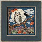 Buttons & Beads 2012 Autumn Series - Night Owl_THUMBNAIL