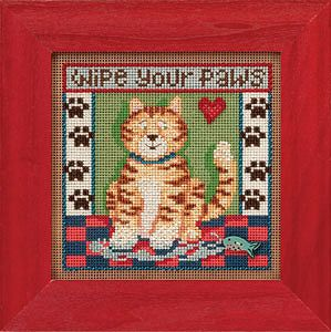 Buttons & Beads 2013 Spring Series - Kitty Paws MAIN