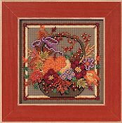 Buttons & Beads 2013 Autumn Series - Autumn Basket THUMBNAIL