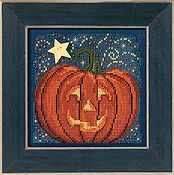 Buttons & Beads 2013 Autumn Series - Midnight  Pumpkin
